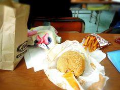きょうのお昼はエンダー(≧∇≦)♡♡♡
