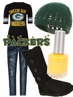 Superbowl Outfit Ideas - Football Fashion - Green ... @Amanda Snelson Snelson Snelson Herrin @Brion Curran Curran Curran Pampell