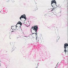 New - Blush Ballerina   - Timeless Treasures - 1 yard - More Available - BTY by BywaterFabric on Etsy