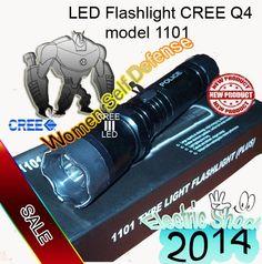 Super Flashlight led CREE Q4 model1101 Shock **** free shipping*****