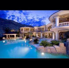 my dream mansion | Home Exterior | Pinterest | Kartanot,Koti ja Uima ...