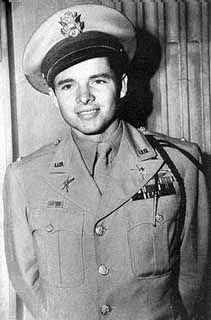 1st Lt. Audie Murphy  US Army ~ Most decorated soldier of WWII. An underage, undersize, baby-faced farm boy with only five years of schooling, Audie Murphy became the most decorated American combat soldier of World War II, winning every citation for bravery the U.S. had to offer, including the Congressional Medal of Honor. Spending more than a year on the front lines in Europe, Murphy was credited with killing more than 240 German soldiers and capturing many others.