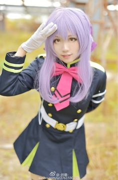 Anime : Owari no Seraph Character : Shinoa Hiiragi Coser : -井萌- Lolita Cosplay, Kawaii Cosplay, Cute Cosplay, Amazing Cosplay, Best Cosplay, Cosplay Costumes, Female Cosplay, Cosplay Ideas, Couples Cosplay