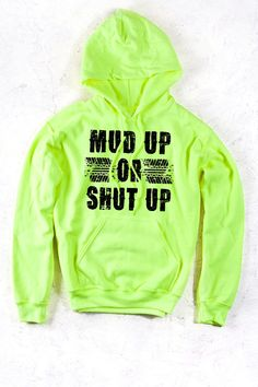 Safety Green - Women's Country Girl® Mud Up Relaxed Pullover Hoodie