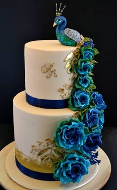 Peacock as an Inspiration for Cake Decoration | Site For Everything
