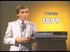 VCRs cost a MINT back in the early eighties!