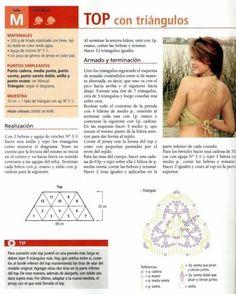 top 2..Bustier aux motifs triangulaires.