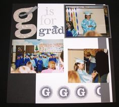 graduation scrapbooking | Graduation Scrapbook Ideas