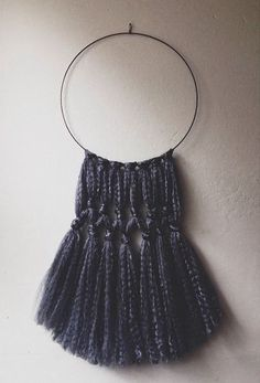 Wool Hoop Wall Art on Etsy for a's room