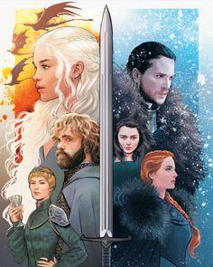 Game of Thrones by Lukas Werneck * – PintoPin Dessin Game Of Thrones, Game Of Thrones Drawings, Game Of Thrones Sansa, Arte Game Of Thrones, Game Of Thrones Artwork, Game Of Thrones Houses, Game Of Thrones Comic, Sansa Stark, Jon Snow
