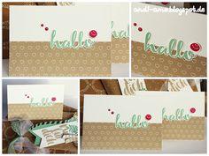 """andi-amo Karte mit dem Stempelset """"Hallo"""" auf www.andi-amo.blogspot.de #Stampin Up #Liebesblüten #Hallo #Karten"""