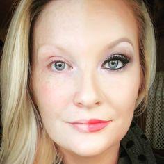 """#creepy #crazy #halfface #selfie #powerofmakeup #wakeupandmakeup #makeup #freckles #younique #youniqueproducts #youniquepresenter #flairbystacy #weird…"""