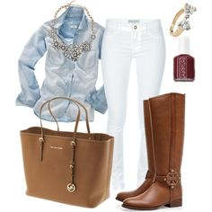 White Skinny Jeans : Casual Chic