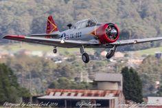 A T-6 #Texan departs @Wings_Illawarra for a display. #Avgeek #Aviation #Canon #USAF #USAAC #Airshow @CanonAustralia