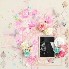The Best Day by:clair Image Layout, Casket, Good Day, Stencils, Floral Wreath, Bubbles, Challenges, Sparkle, Good Things