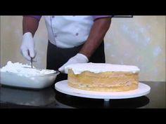 Torta Salgada passo a passo com pão de ló Salgado e chantily Salgado - YouTube
