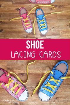 Printable Shoe Lacing Cards Is your child frustrated about tying their shoelaces? Help your child practice tying their shoes with these adorable printable shoe lacing cards, get the hanging of tying your shoes in no time. Kindergarten Science Activities, Kindergarten Homeschool Curriculum, Preschool Activities, Preschool Lessons, How To Tie Shoes, Your Shoes, Preschool At Home, Preschool Special Education, Preschool Prep