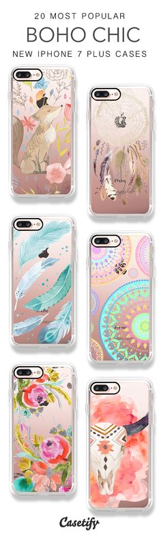 Be the Boho Chic. 20 Most Popular Boho iPhone 7 Cases and iPhone 7 Plus Cases here >  https://www.casetify.com/artworks/8YuPwEn4hf