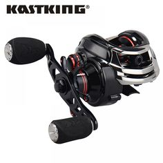 Any angler would love to add KastKing fishing reels to their fishing gear collection. INCREDIBLY SMOOTH - KastKing Royale Legend bait casting reel features a gear ratio and 11 MaxiDur shielded ball bearings for flawless, noise-free casts and retrieves. Fishing Line, Carp Fishing, Best Fishing, Fishing Reels, Fishing Tackle, Catfish Fishing, Fishing Store, Fishing Bait, Kayak Fishing