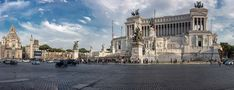 Piazza Venezia - Wikipedia Italian Unification, Equestrian Statue, Rome Hotels, Unknown Soldier, Trevi Fountain, Palace Hotel, Ancient Rome, Barcelona Cathedral, Competition