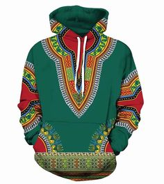 "Universe of goods - Buy ""African Dashiki Print Hoodie Sweatshirt Men Women Spring Autumn Hoodies Men Hip Hop Streetwear Hooded Sweatshirts Moletom for only USD. Hoodie Sweatshirts, Printed Sweatshirts, Hip Hop, Dashiki Hoodie, Moda Afro, African Dashiki, Hipsters, Pullover, Streetwear"