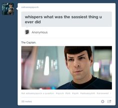 Spirk -oh dear lord Star Trek Humor, Star Trek Tos, Star Wars, New Movies, Movies And Tv Shows, Spock And Kirk, Stark Trek, Zachary Quinto, Star Trek Movies
