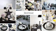 Inspiration Table de Fêtes - Graphique - by dPB