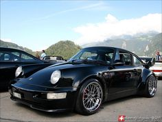 "Porsche 964 3.6 Turbo....this car was Will Smith's chariot in the movie ""Bad Boys""...working on aquiring one of these!"