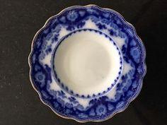 Late 19th century Crumlin flow blue china by Myott