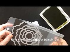 Technique, How to Emboss Wax Paper Resist, Stampin' Up! Products