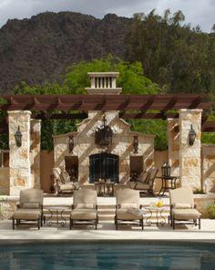 Old World, Mediterranean, Italian, Spanish & Tuscan Homes Design & Decor...