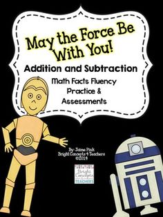 Math Facts Fluency Unit to help students master their addition and subtraction facts. Includes: 15, 25 and 50 problem tests, awards, student progress charts, flash cards and more! $