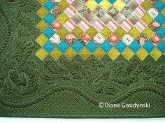 "Diane Gaudynski ""A New Tradition in Quilting"" Diane is a super star quilter. Truly gifted in designing, combining colors and quilting skill."
