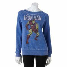 Freeze Iron Man Sweatshirt - Juniors