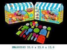 Mainan Plastisin Snack Bar / Playdoh / Fundoh