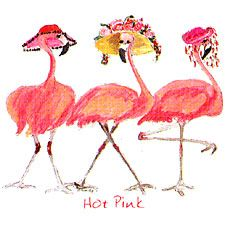 flamingo ladies...so fancy