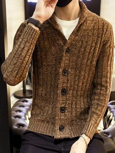 Trendy Fashionable Cheap Mens Cardigans Sweaters,on Sale!