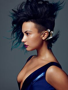 Get an Exclusive Look at Demi Lovato's Allure Photo Shoot: Daily Beauty Reporter :  For our January issue, we played dress-up with Demi Lovato for a stunningly beautiful (if we do say so ourselves) photo shoot. In the picture above, the singer shows off her natural freckles—she was wearing barely any makeup and...