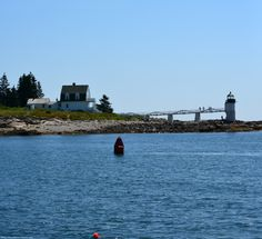 Port Clyde's lighthouse.
