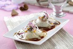 Raviolis de foie con salsa de Oporto #aquesabe
