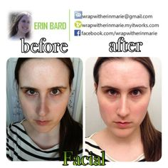 I felt smoother, tighter, and more hydrated after my first at home FACIAL, from IT Works!
