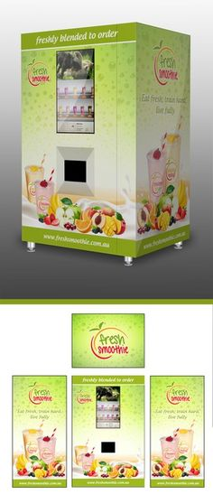 Create an eye-catching design for our smoothie vending machine by DesingSBS