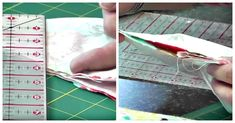 Sewing Ideas For Babies This Self Binding Baby Quilt Makes A Great Gift! - This is such a great project! Baby Quilt Tutorials, Baby Quilt Patterns, Quilting Patterns, Sewing Patterns, Diy Baby Gifts, Baby Crafts, Quilting Tips, Quilting Projects, Machine Quilting