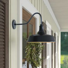 """Latest Totally Free Farmhouse Lighting ikea Ideas Nothing says """"welcome home"""" better than farmhouse style. Its earthy color scheme, rustic charm, Front Door Lighting, Garage Lighting, Porch Lighting, Exterior Lighting, Lighting Ideas, Exterior Barn Lights, Front Porch Lights, Outdoor Porch Lights, Exterior Shutters"""