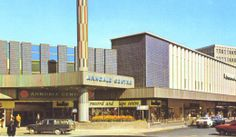 Donny (Doncaster) lived there in 1973 -- this is the Arndale Centre, now demolished South Yorkshire, Yorkshire England, Places Of Interest, Urban Landscape, Back In The Day, Places Ive Been, Centre, The Past, Street View