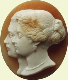Cameo for a badge of the Order of Victoria and Albert, made c. 1856-64