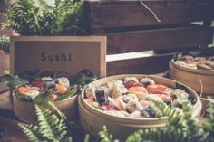 Sushi bar - Catering l'Empordà - #wedding #boda #event #evento #catering #sushi #sushibar #makis #californiarolls