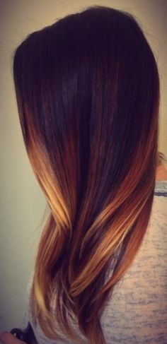 I love this color want longer thicker hair check out my website fitmomflo.myitworks.com