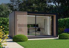 Home Our Lite Pod is a Spacious Open Plan Garden Studio – Pod Space How To Buy House Floor Mats Arti Outdoor Office, Backyard Office, Backyard Studio, Garden Office, Outdoor Rooms, Home Office Design, House Design, Office Decor, Garden Design