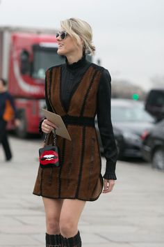 Quirky Bags Were The Number One Street Style Trend This Fashion Month | StyleCaster